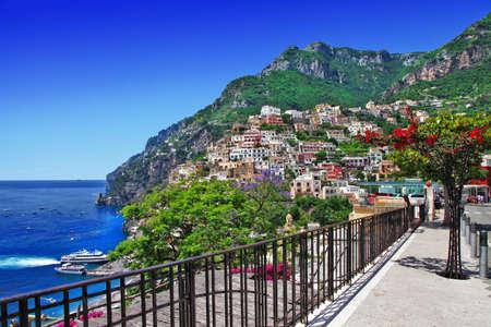 beautiful Italian coast - Amalfi, Positano photo