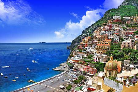 Belle côte italienne - Amalfi, Positano Banque d'images - 27588605