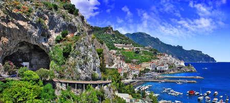 scenic Amalfi coast,Italy