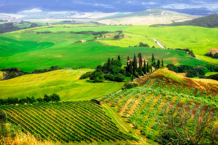 orcia: beautiful scenery of Tuscany, Italy, Orcia