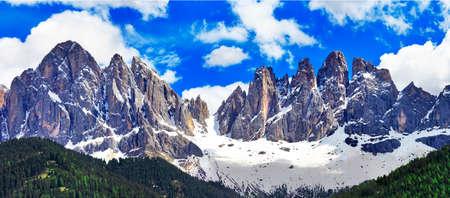 dolomite: Dolomites mountains, Tirol, north Italy Stock Photo