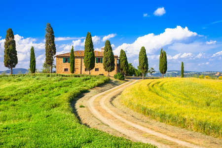 pictorial Tuscany, Italy, Orcia