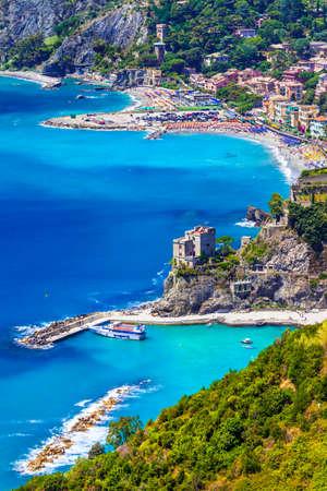 cinque terre: Monterosso al mare , Cinque terre, Italy Stock Photo