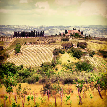 podere: pictorial Tuscany, Italy, Orcia