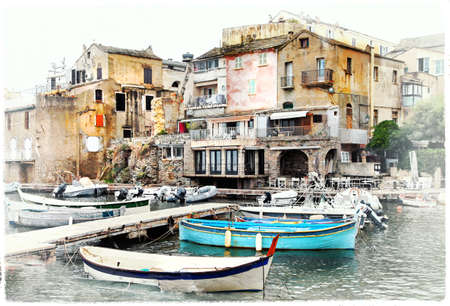 fishing village: villages of Corsica - Erbalunga