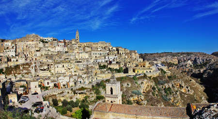 basilicata: Matera - ancient cave city in Basilicata. Italy