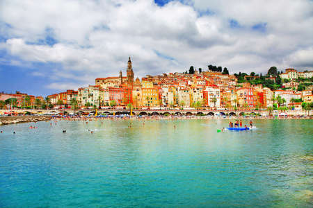 Menton- holidays in south of France photo
