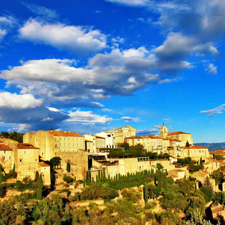 luberon: Gordes village in Provence. france Stock Photo