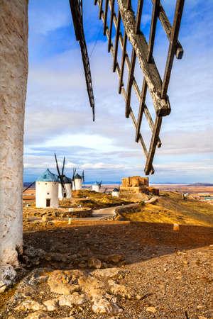 don quixote: Spanish windmills