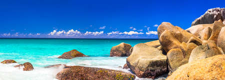 incredible beaches of Seychelles, Praslin island