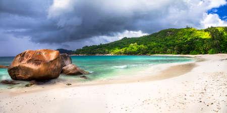granit: before rain - impressive scenery in tropical island