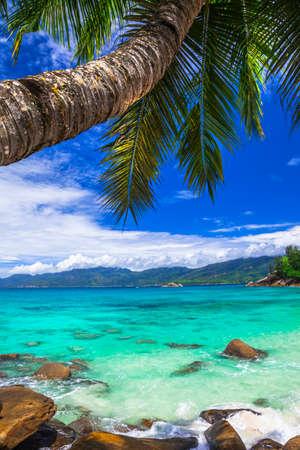costal: Seychelles - tropical paradise Stock Photo