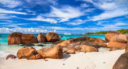 granit: incredible beaches of Seychelles, Praslin island