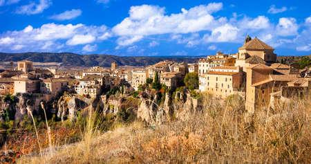 cuenca: Cuenca - town on rocks , Spain