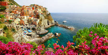 beautiful Manarola village - Cinque terre photo