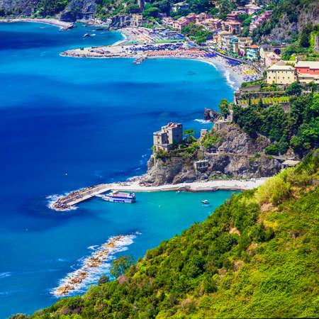 cinque: Monterosso al Mare - Cinque terre, Italy Stock Photo