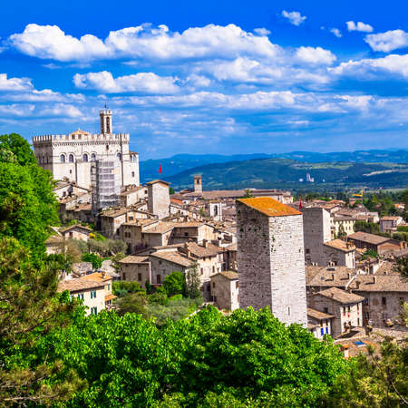 Gubbio, Umbria, Italy photo
