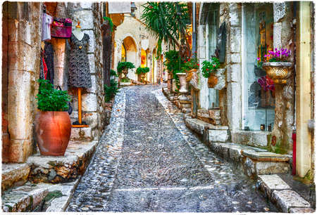 vence: charming old streets of medieval villages in France- St. Paul De Vence