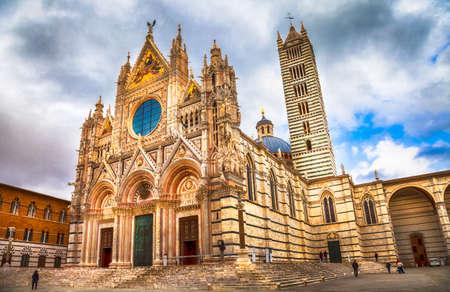 siena: Siena cathedral , Tuscany, Italy