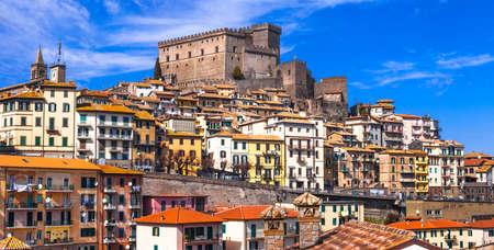 authentic medieval town of Italy- Soriano nel cimino ,Lazio photo