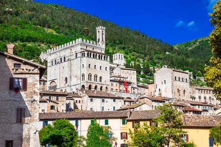 umbria: medieval Gubbio, Umbria, Itlay