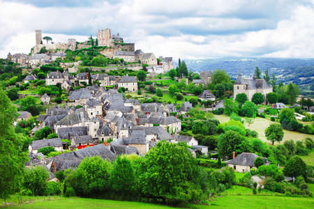 Turenne - beautiful village in France (Limousin)