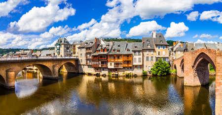 Espalion - eines der schönsten Dörfer Frankreichs, wenn
