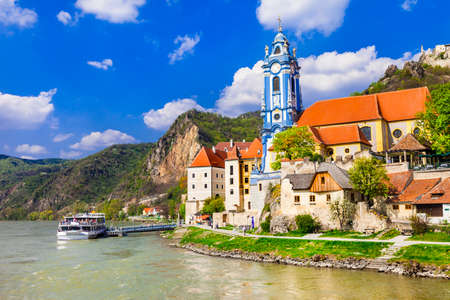 scenery of Austria Durnstein on Danube