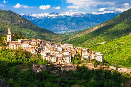 paesaggio: borghi autentici d'Italia. Abruzzo