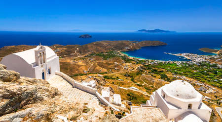 authentic Greece view of Serifos island