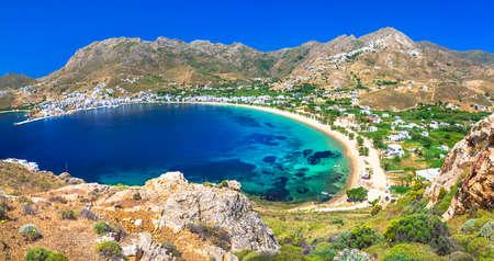 Serifos island Greece Cyclades Stock Photo