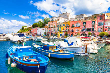 mediterranean houses: islands of Italy - Procida