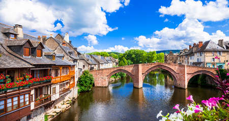 beautiful scenery: most beautiful villages of France - Espalion Editorial