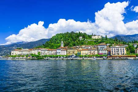 como: Bellagio town - Lake Como, norh of Italy