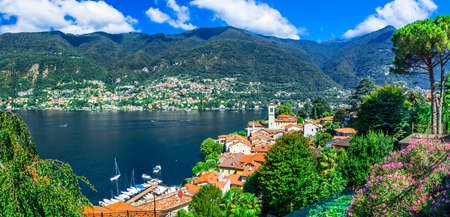 lago di Como- pictorial lake at north of Italy