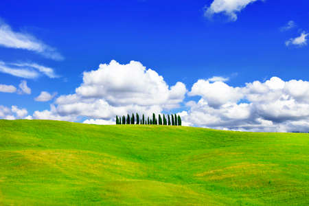 podere: minimalism in nature - scenec hills of Tuscany