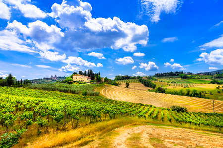 ländlichen Landschaften der Toskana, Itay