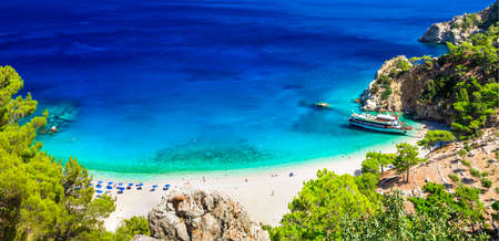 one of the most beautiful beaches of Greece- Apella in Karpathos island