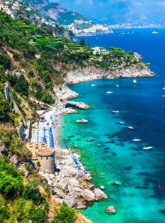 coastlines: pictorial Amalfi coast, Italy