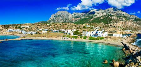 greek islands: beaches of Greek islands- Lefkos Karpathos