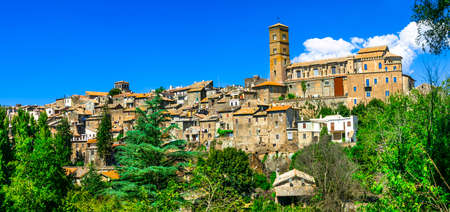 etrurian: ancient etruscan town Sutri, Italy, viterbo province