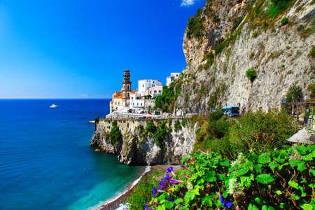 atraction: Atrani - beautiful Amalfi coast, Italy