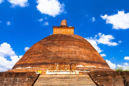 dagoba: landmarks of Sri lanka - stupa in Anuradhapura