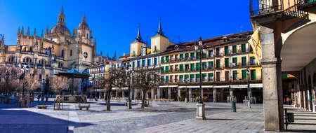 segovia: landmarks of Spain - Segovia
