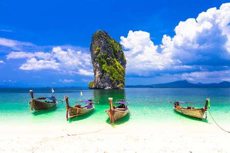 stunning nature of Thailand, Krabi province 版權商用圖片
