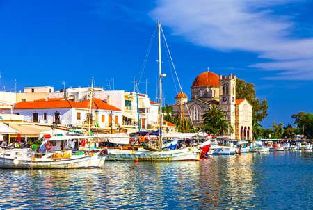 greek islands: beautiful greek islands - Aegina