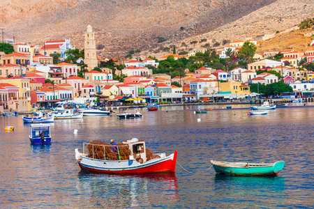halki: beautiful islands of Greece - Chalki