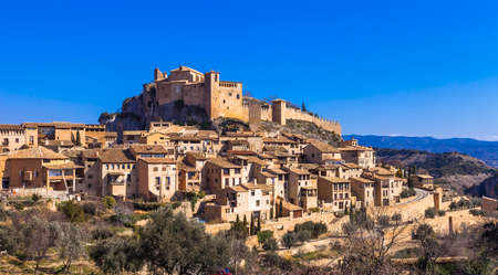 aragon: most beautiful vilages of Spain - Alquezar in Aragon