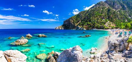 most beautiful beaches of Greece - Apella in Karpathos Banco de Imagens