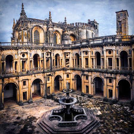 impressive: impressive cathedral Convento de Cristo, UNESCO site, Portugal